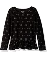 The Children's Place Baby Girls' Long Sleeve Graphic Top