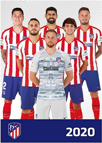 Amazon Com Atletico Madrid Official 2020 Soccer Calendar A3 Sports Outdoors