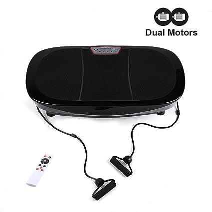 827c8d9e82 3D Fitness Whole Body Vibration Platform Machine - 400W Dual Motors Vibration  Plate Crazy Fit Massage