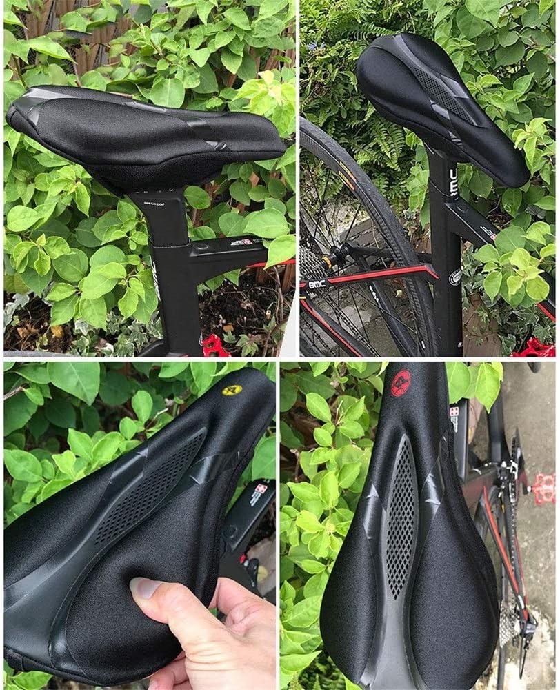 Sillín de Bicicleta Mountain Bike Funda de silicona Funda de silla ...