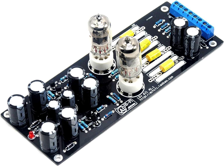6J1 Valve Pre-Amp Amplificateur à produit fini À faire soi-même Kit Amplificateur Case AC 12 V