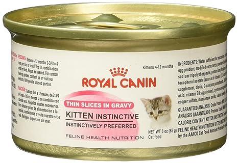Amazon.com : Royal Canin Kitten Instinctive Comida para Gatos, 3 oz (85 g) : Everything Else