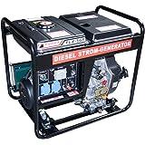 Diesel Stromerzeuger mit 4,8 kW Dauerleistung und Elektrostarter.