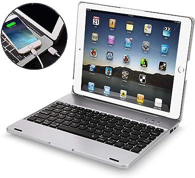 Funda con Teclado para iPad 2, 3, 4, iPad 2, 3 y 4, con ...