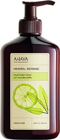 AHAVA Mineral Botanic Body Lotion Lemon & Sage 400ml, 400 ml