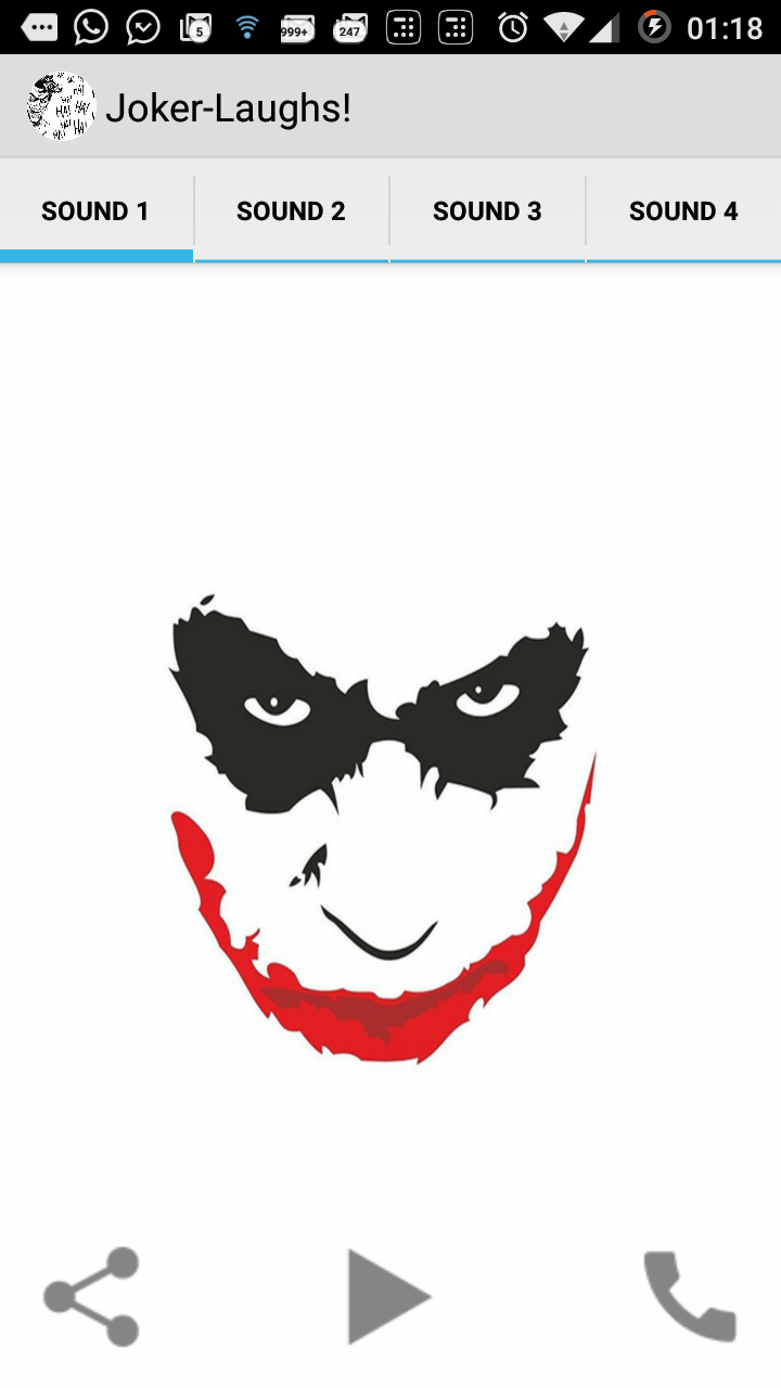 Amazon.com: Joker Laughs: Appstore for Android