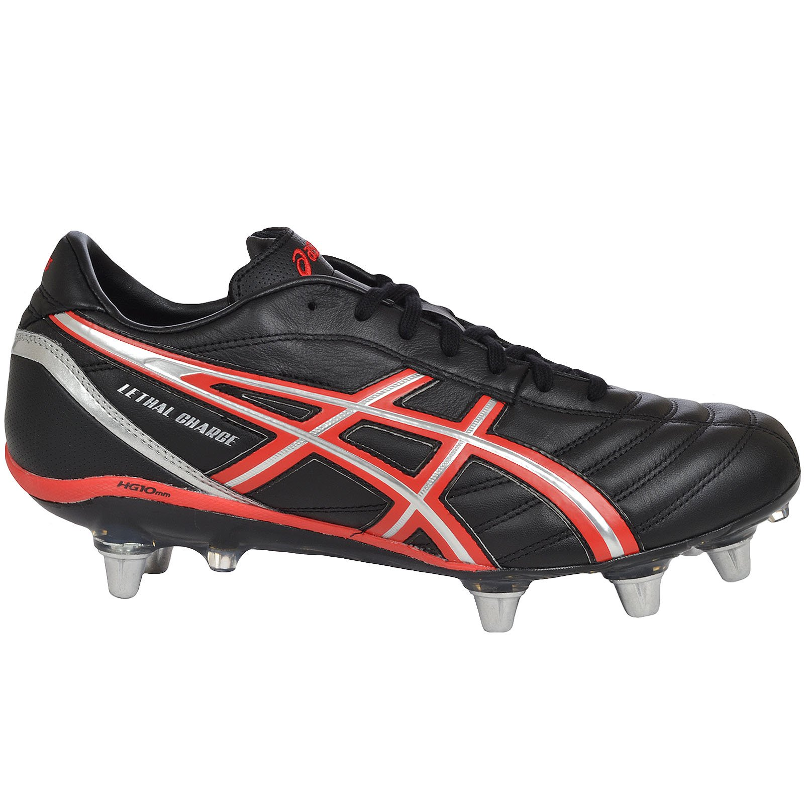 ASICS Lethal Charge, Men's Rugby Boots - 7US