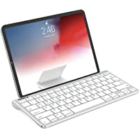 Nulaxy KM13 Bluetooth Keyboard with Sliding Stand Compatible with Apple iPad iPhone Samsung Android Windows Tablets…