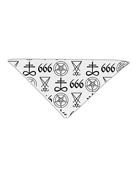Amazon Tooloud Satanic Symbols Adult 19 Square Bandana All