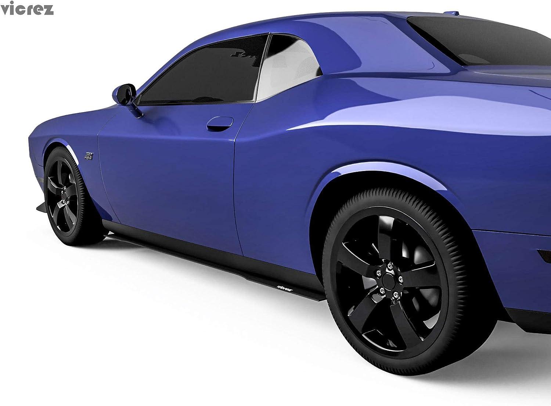 Amazon.com: Vicrez Dodge Challenger 2008-2014 VZ Style Side Skirt Splitter  vz100660: AutomotiveAmazon.com