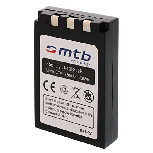 12 opinioni per Batteria Li-10b/12b per Olympus C-765 UltraZoom, C-770 UltraZoom, D-590 Zoom...