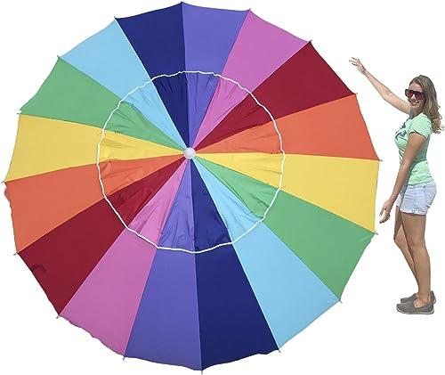 EasyGO Rainbow Beach Umbrella