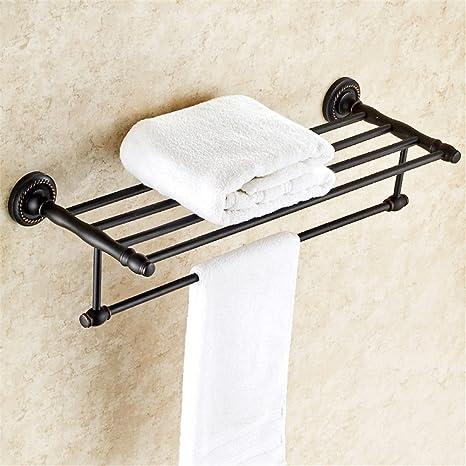Toallero americano toallero negro cobre baño hardware baño ...