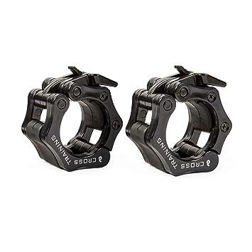 Earwaves ® Pro Lockers - Topes de Pesas para Barra olímpica. Bloqueadores de Discos para
