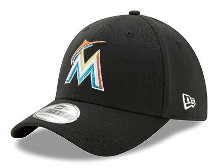 444b7ef6 Amazon.com : New Era Miami Marlins MLB 39THIRTY Team Classic Flex ...