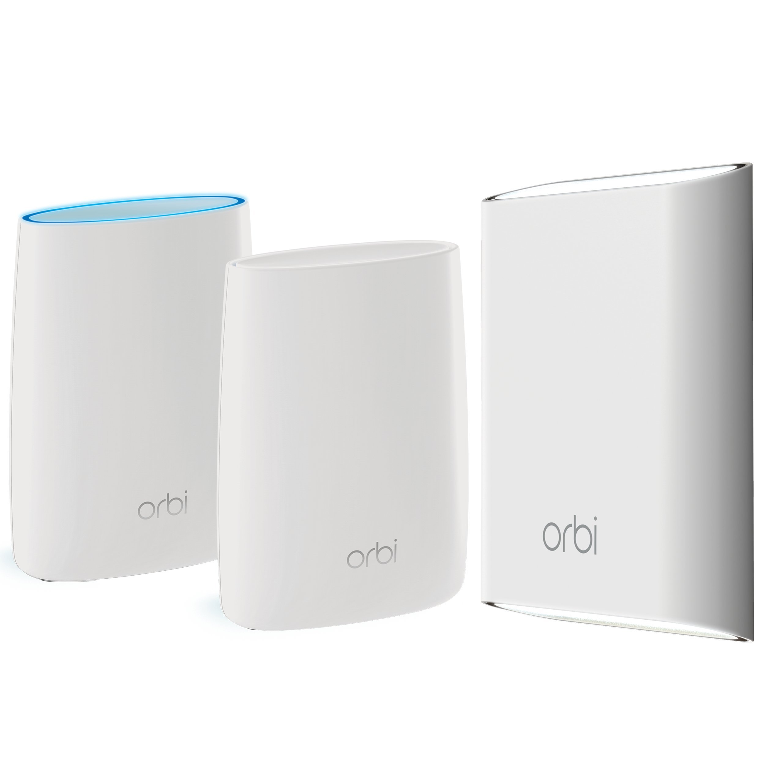 NETGEAR Orbi Whole Home & Yard Mesh WiFi System with Tri-Band - 7,500 sqft, Eliminate WiFi Dead Zones Indoors and Out, Alexa Support, AC3000 (Set of 3) by NETGEAR