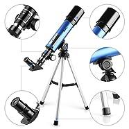 telescope astronomie Lunette TELMU F36050M