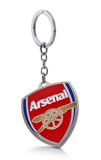 d0289c957 Official Soccer Team Football Club Logo Metal Pendant Keychain (Arsenal  F.C.)