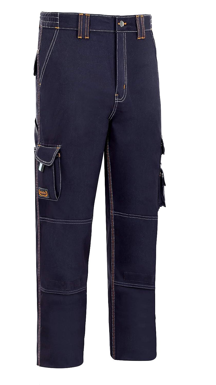 Pantalon trabajo t38 alg az//mar stretch triple costura mltib Vesin Se-902-Am-T38