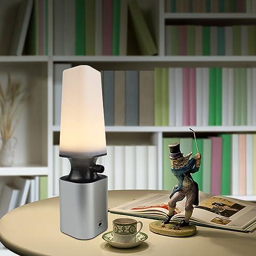 Amazon.com: Lámparas de Mesa LED Luz Nocturna Recargable ...