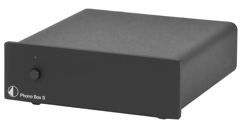 Pro-Ject Phono Box S Stadio Fono MM/MC, Nero Phono Box S Black giradischi stadiophono