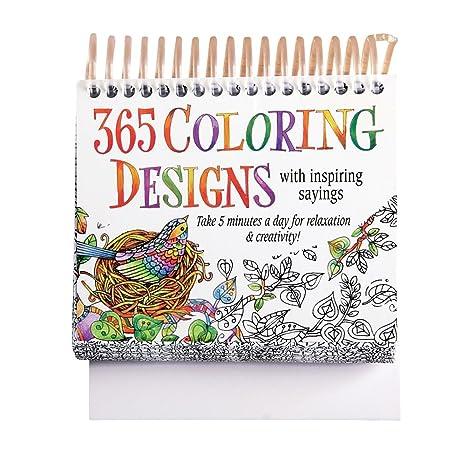 Calendario 365.Colorazione Design Calendario 365 Fogli Amazon It Casa E Cucina
