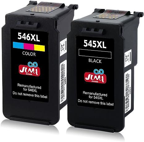 JIMIGO 545XL 546XL 545 XL 546 XL Cartuchos Reemplazo Para Canon PG ...