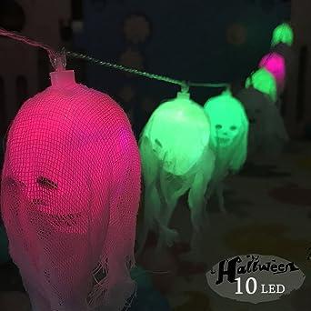Weihnachten decoratie licht, morbuy 10 LED schedel lichtketting ...