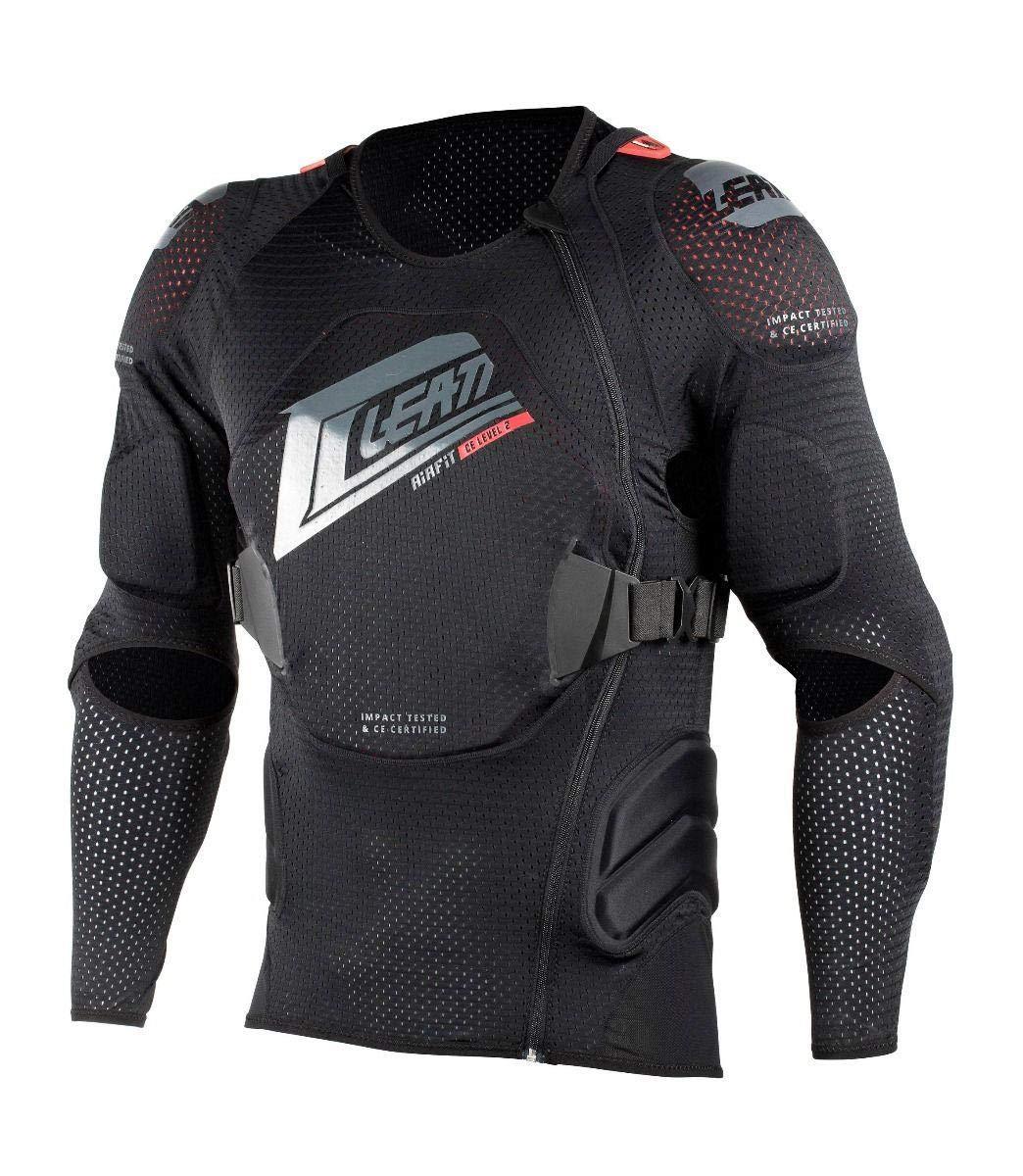 leatt 3df airfit lite nero 2019  5018101212 - Leatt 3DF AirFit Body Protector L/XL Black ...