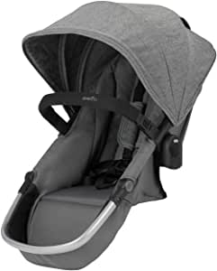 Evenflo Pivot Xpand Modular Stroller Second Seat, Compatible with Evenflo Pivot Xpand Modular Travel System & Modular Stroller, Holds Up to 55-lbs, Multiple Configurations, Percheron Gray