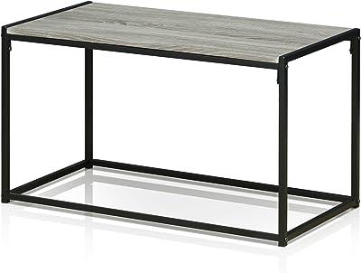Furinno FM-8040CTDO Modern Lifestyle Coffee Table, Dark Oak