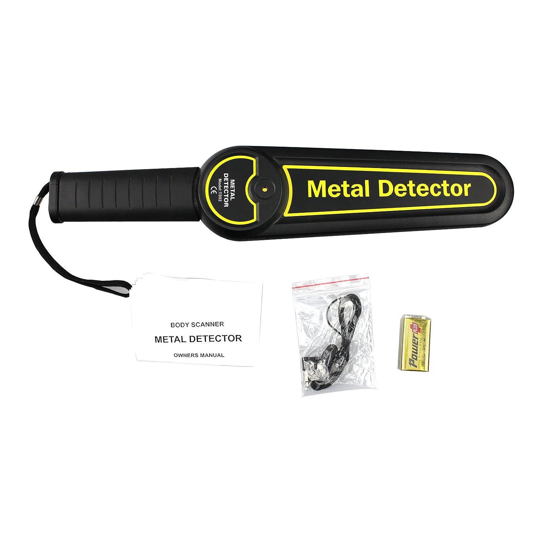 all-sun detector de metales de mano de seguridad varita escáner corporal: Amazon.es: Electrónica