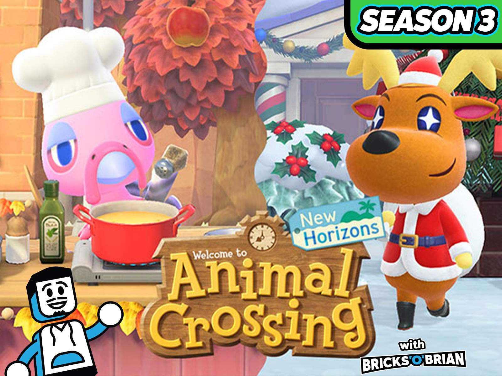 Clip: Animal Crossing New Horizons with Bricks 'O' Brian! on Amazon Prime Video UK