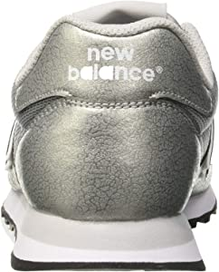 new balance 500 silver metallic