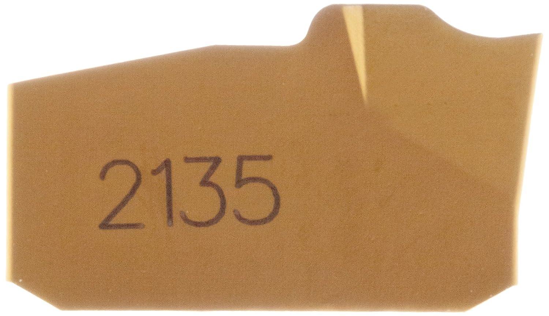 1 Cutting Edge L151.2-300 05-5E 30 Insert Seat Size 0.0079 Corner Radius Pack of 10 Sandvik Coromant Q-Cut 151.2 Carbide Parting Insert Multi-Layer Coating GC2135 Grade 5E Chipbreaker