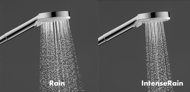 Hansgrohe 27271000 Crometta E 240 columna de ducha, 2 tipos de chorro, cromo: Amazon.es: Bricolaje y herramientas