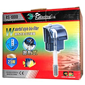 Waterfall Syle Aquarium Bio Filter Rs-1000