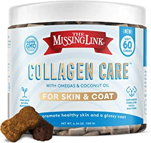 The Missing Link Skin & Coat Collagen Care Soft Chews – Adult Dogs