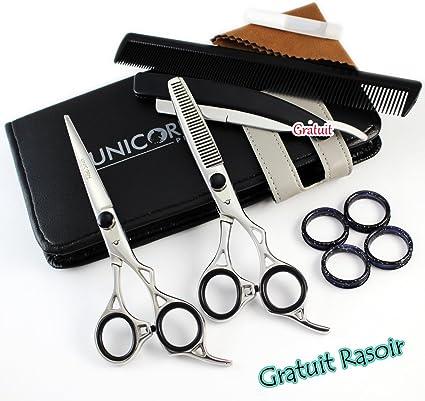 Top Calidad coiffeurs profesionales tijeras Mirror Finish tijeras ...