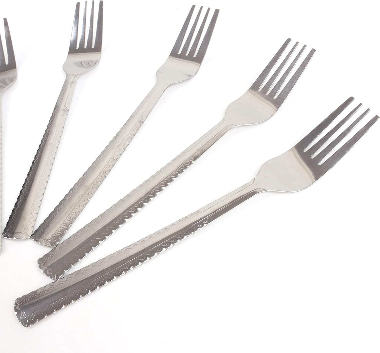 12x Stainless Steel Dinner Forks Cafe//Pub//Bar//Bistro//Restaurant Cutlery