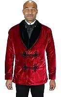 Historical Emporium Men's Vintage Velvet Smoking Jacket
