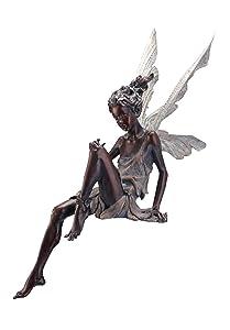 Napco Sitting Fairy Garden Statue, 24-Inch Tall