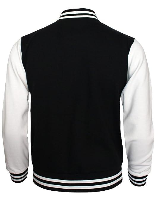 Amazon.com: BCPOLO Baseball Jacket Varsity Baseball Cotton ...