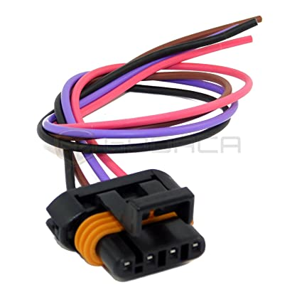 Amazon.com: 1 X Ls1 Ls6 Ignition Coil Wiring Harness Pigtail ... on obd2 to obd1 jumper harness, gm wiring alternator, gm wiring connectors, gm alternator harness, radio harness, gm wiring gauge,