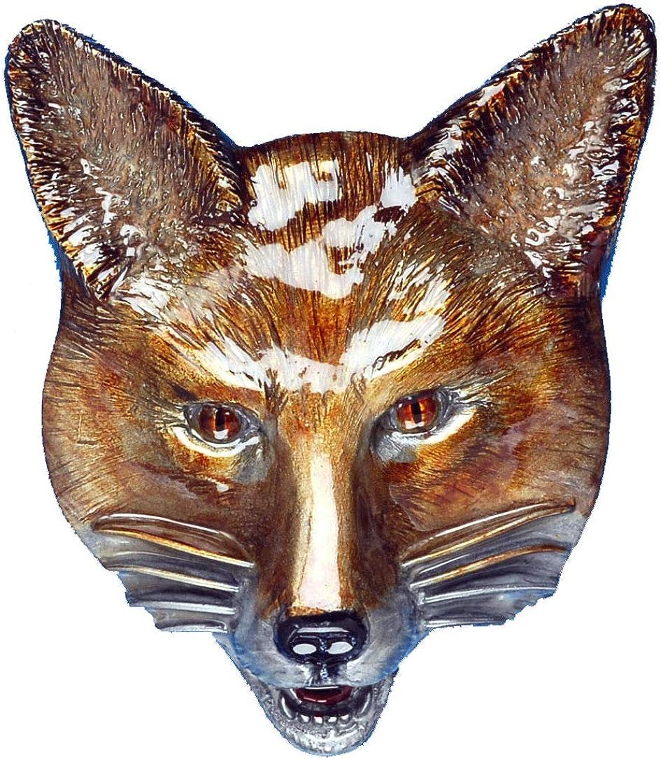 Fox Head Belt Buckle