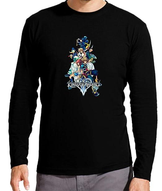 Camiseta Manga Larga de Hombre Varias Videojuegos Gamer Kingdom Hearts: Amazon.es: Ropa y accesorios