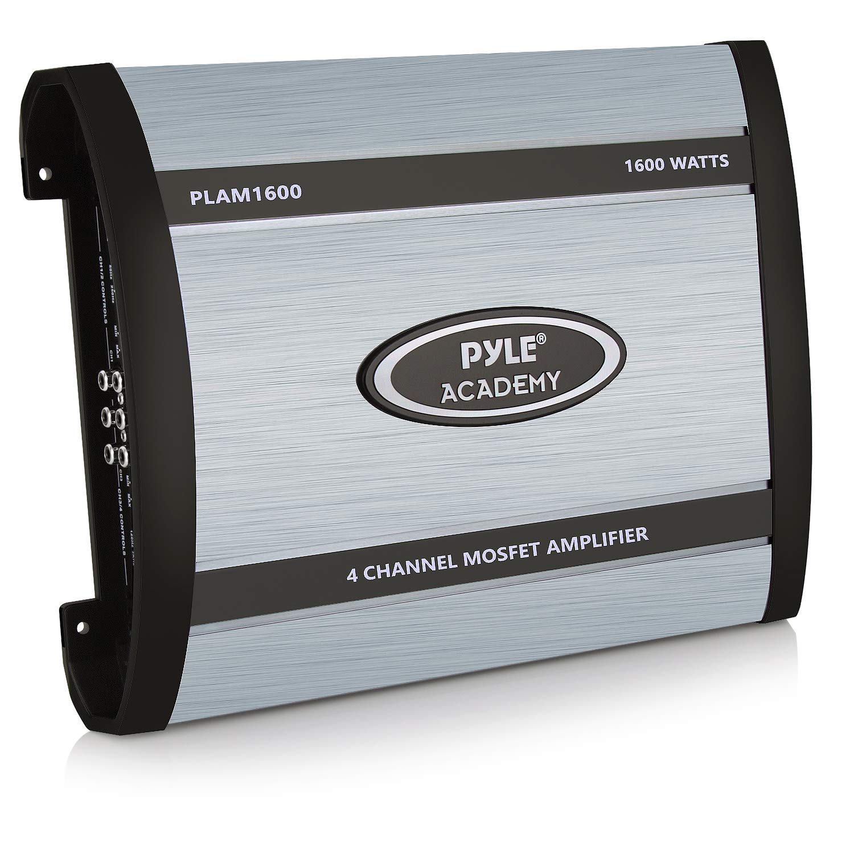 Pyle Plam1600 1600 Watts 4 Channel Bridgeable Amplifier 6 Speakers Amp Wiring Diagram Car Electronics