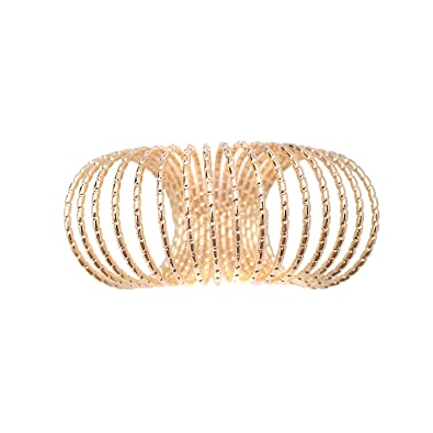 b454612ad577b Amazon.com: chelseachicNYC Diamond Cut Spring Fever Statement Ring ...
