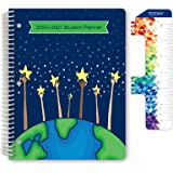 """Dated Elementary Student Planner for Academic Year 2020-2021 (Matrix Style - 8.5""""x11"""" - Reach for The Starts Cover…"""
