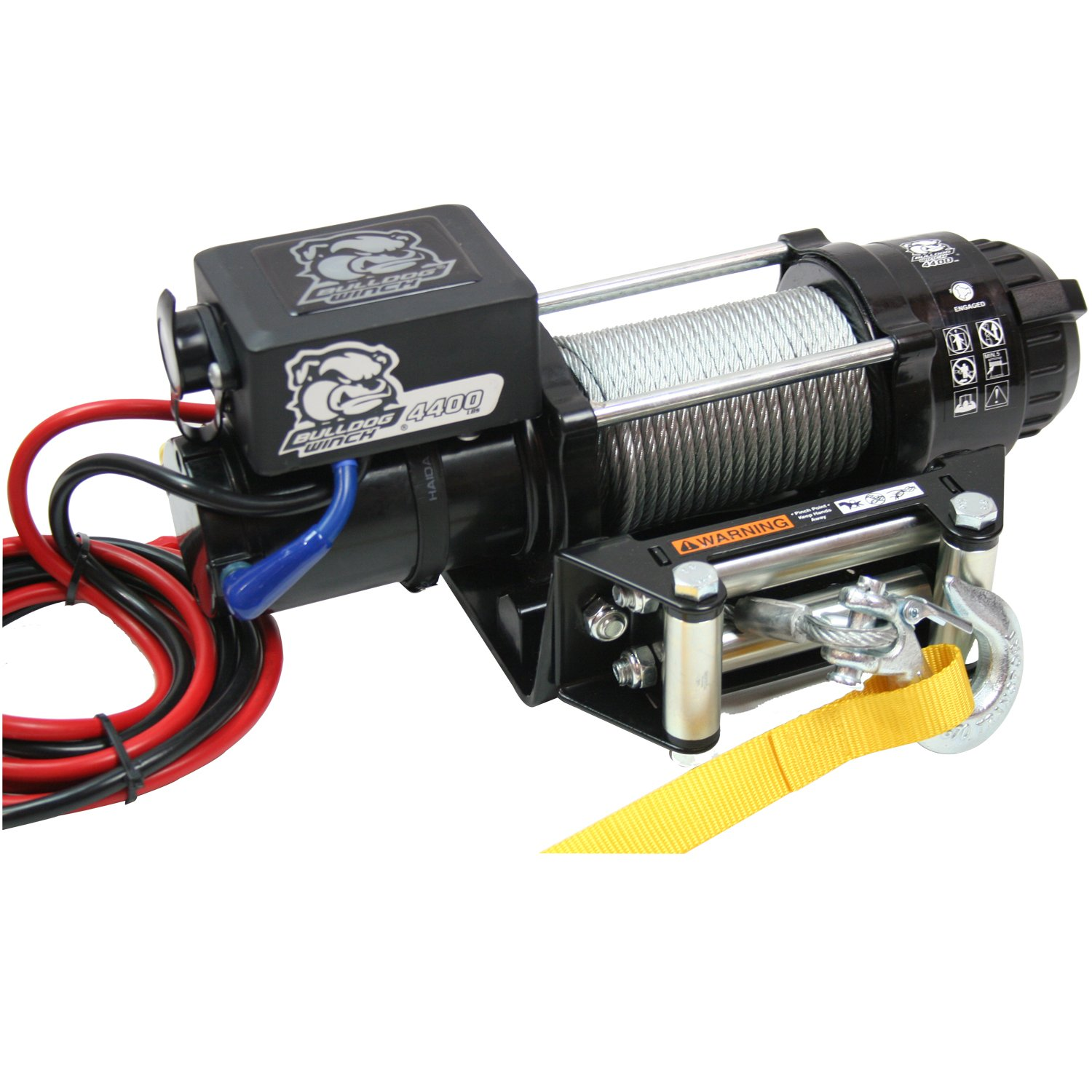15019 Trailer Winch//Utility Winch Bulldog Winch 4400 Pound